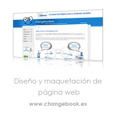 Dise�o web desarrollado para una empresa dedicada al intercambio online de libros de texto.