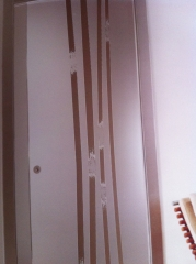 Puertas de cristal serigrafiadas