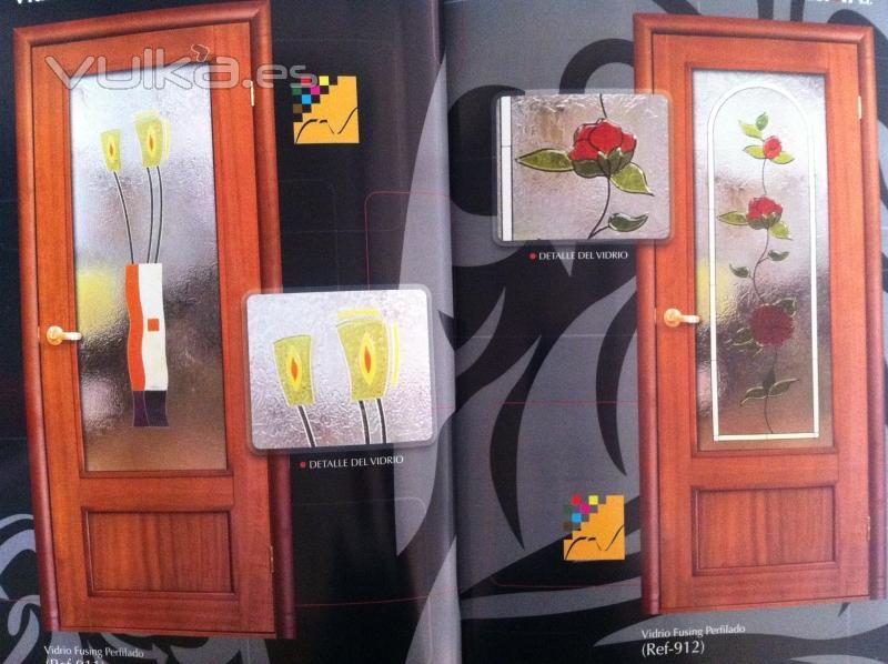Foto cristales para puertas - Cristales de colores para puertas ...
