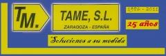 Fabricaci�n y venta de todo tipo de sistemas de ENCOFRADOS. Encofrados en Zaragoza (Espa�a).TAME,S.L