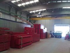 Fabricaci�n y venta de SISTEMAS de ENCOFRADOS en ESPA�A. Encofrados para muros, columnas, forjados