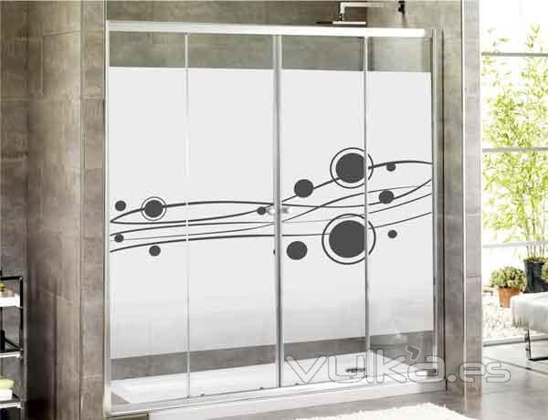 Foto vinilo decorativo modelo ba os for Vinilos para paredes de banos