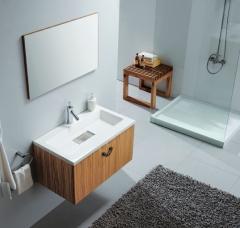 Conjunto de mueble de ba�o, lavabo y espejo palermo ref_10.028