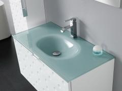 Conjunto de mueble de baño, lavabo y espejo versalles ref 10.044
