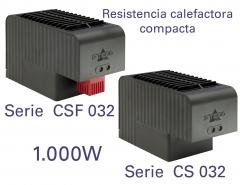 Resistencias calefactoras, cuyas principales características son su gran potencia