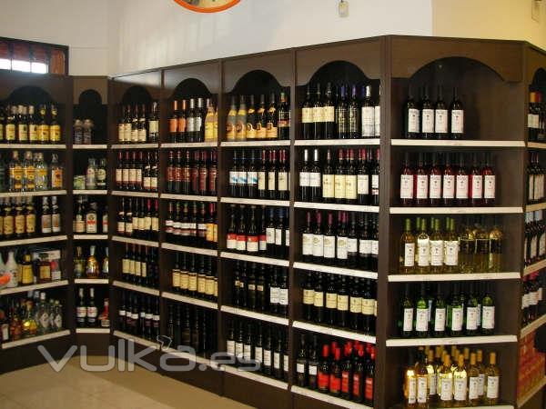 Foto vinotecas y estanterias para exposicion bebidas - Fotos de vinotecas ...
