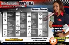 Repuestos y partes usadas para automoviles