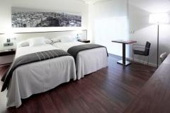 Habitacion twin hotel primus valencia