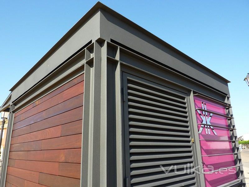 Kioscos de prensa gestion urbana for Disenos de kioscos