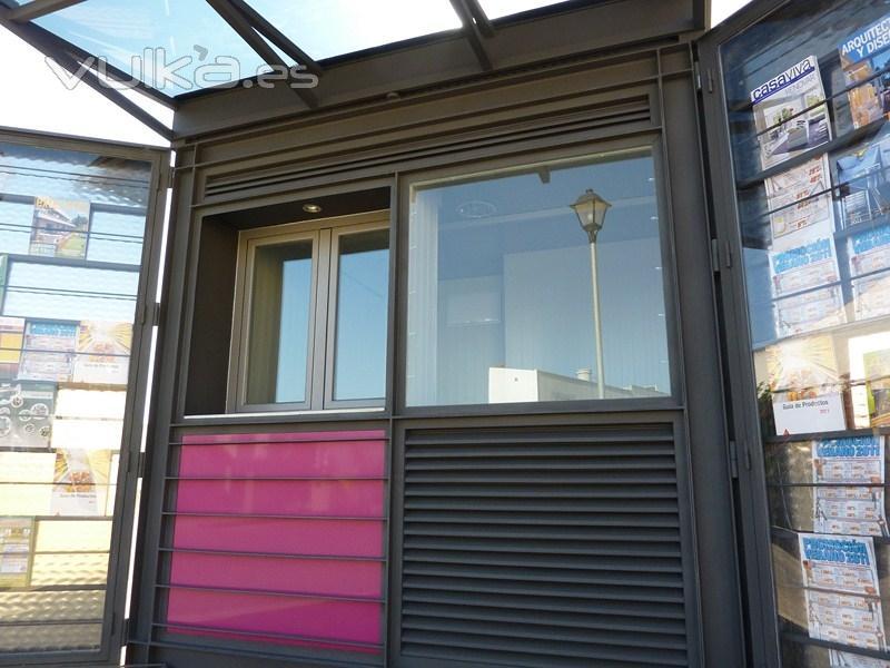 Kioscos de prensa gestion urbana for Kioscos prefabricados