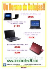 Catálogo de ofertas para este Verano 2011 - www.consumiblesa3f.com