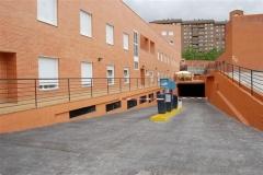 Parkin en el propio edificio, gratuito para usuarios del centro de dia