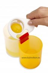 separador huevo, separar el huevo