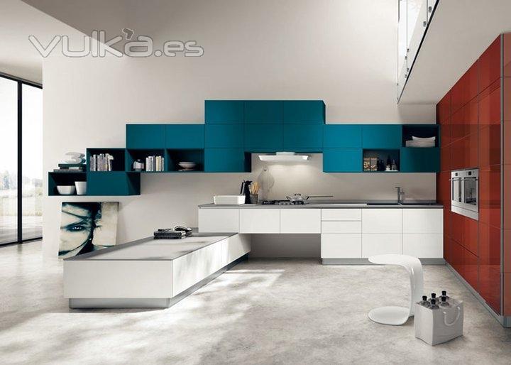 Foto cocinas modernas - Baldosas para cocinas modernas ...