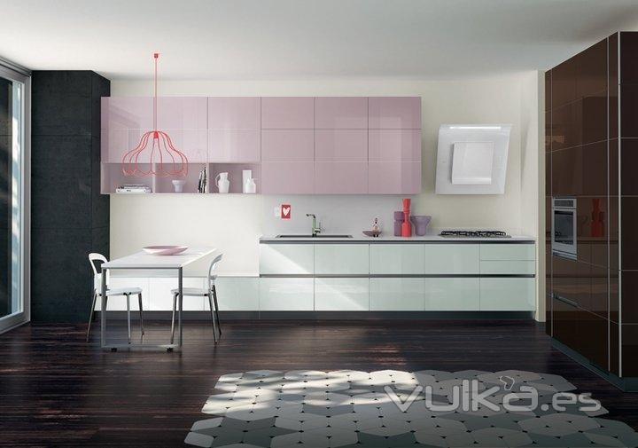 Foto cocinas de dise o italiano - Muebles de cocina italianos ...