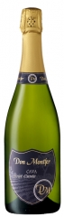Don montfer brut cuv�e  variedades:  20% chardonnay 10% pinot no�r 25% xarel.lo 30% parellada 15% ma