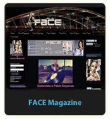 Diseño web facemagazine