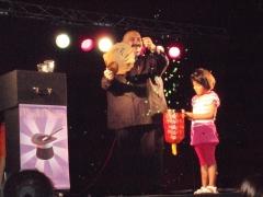 Magik Mackey en la plaza Catalunya de Sant Boi de Llobregat el 1/7/2011