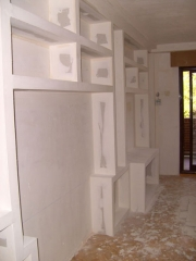 Muebles y estanterias de obra de pladur