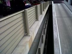 Tirantes cable acero de refuerzo en parking