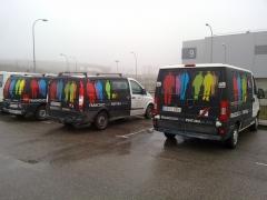 Rotulaci�n integral furgonetas pinturas francisco sim�. vinilo fundicion.