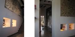Raddi arquitectes reforma en masia per habitatge unifamiliar a les piles, tarragona