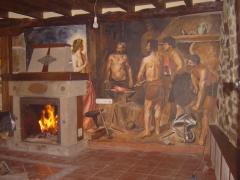 Mural en sal�n particular