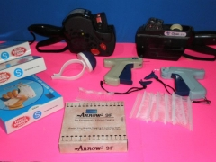 Etiquetadora, marcadora y hilos de nyl�n