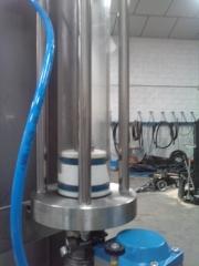 Bomba transparente, para ver la dosificacion del liquido y posibles fugas