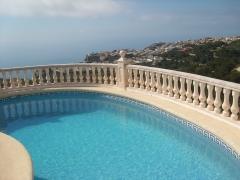Mantenimiento piscina en Cumbre del Sol.