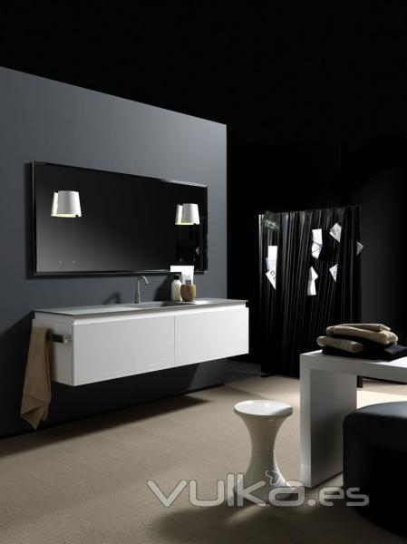 Foto espectacular mueble de ba o de lujo de karol - Muebles de bano de lujo ...