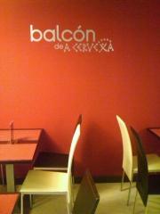 El balcon es un eservado para cenas y comidas