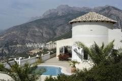 Villa auf altea hills an der costa blanca in guter lage mit gehobener ausstattung
