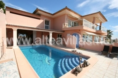Exklusive villa in altea an der costa blanca