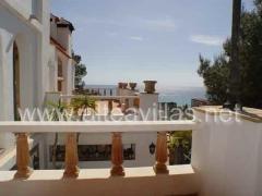 Rustikale villa in altea an der costa blanca mit meerblick in stadtn�he