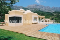 Orientalische villa in altea an der costa blanca