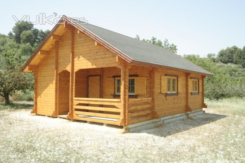 Foto venta de casas de madera - La casa de madera valencia ...