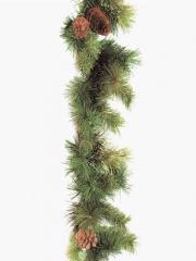 Guirnalda de pino artificial. oasisdecor.com guirnaldas artificiales de navidad