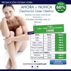 Promociones en Depilacion laser