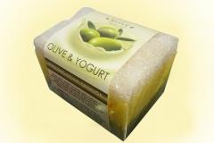 Oferta jab�n esponja refan oliva y yogurt en oferta en linea ba�o