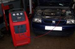 Carga gas aire acondicionado