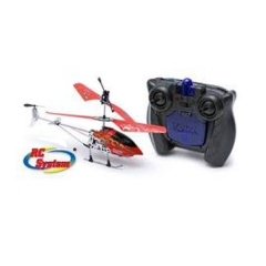 Helicoptero nanocopter 3g rojo rc system