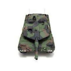 Tanque rc leopard a5 battle r/c b14 escala 1:24 heng long