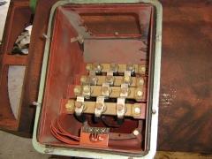 Motor electrico. caja de bornes motor 1000 cv.
