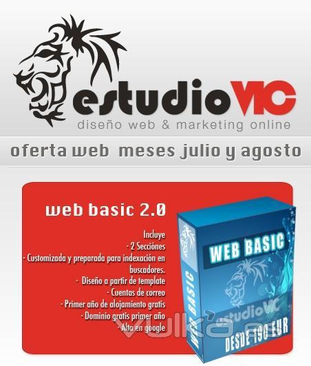 OFERTA WEB 2.0 POR 190 EUR!!!!