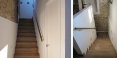 Raddi arquitectes reforma i rehabilitació en habitatge unifamiliar. nova escala