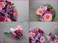 Ramo de novia  prendidos y r�plicas del ramo de novia mayula flores