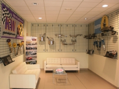 Showroom accesorios deportivos