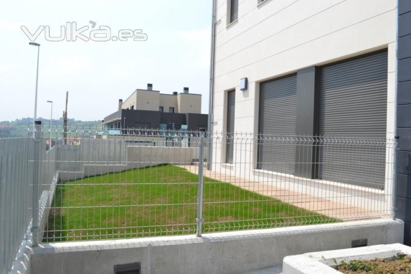 Cerramientos ruan - Vallas metalicas jardin ...