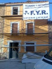 Con solo reformar la fachada, dale un toque nuevo a tu vivienda.